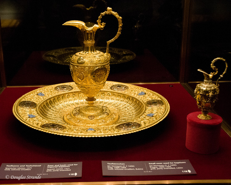 Ewer and basin used for imperial baptisms -- Imperial Treasury, Vienna