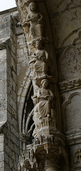 Chartres Cathedral North Porch Arch Figures