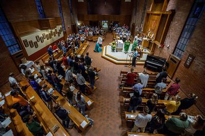 2018 UConn Mass of the Holy Spirit
