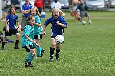 U10 Girls Essex United AB vs Iroquois SC B