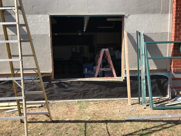 PAC Wall Siding Progress 2020
