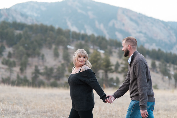 Shannon & Tyler | Jeffco Open Space