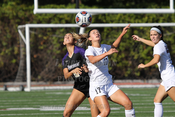 W SOCCER vs. Whittier 10-2-19