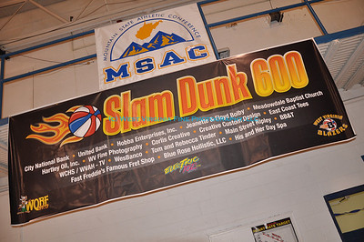 Slam Dunk 600 Benefit Basketball