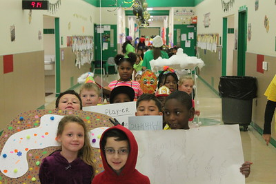At Center Elementary School Friday, Oct. 26, was Vocabulary Parade Day