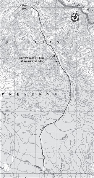 Wrangell-St. Elias National Park and Preserve (Nabesna Area - Lost Creek Trail)