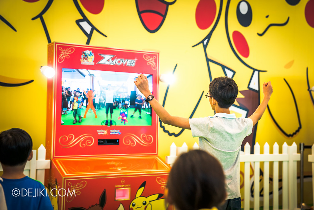 Pokémon at Changi Airport - ZMoves Game Machine