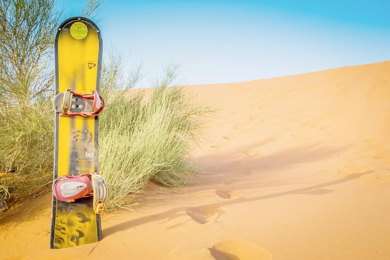 Sandboarding Dunas Del Mogote from La Paz Mexico
