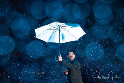 Portrait In The Rain | Arron