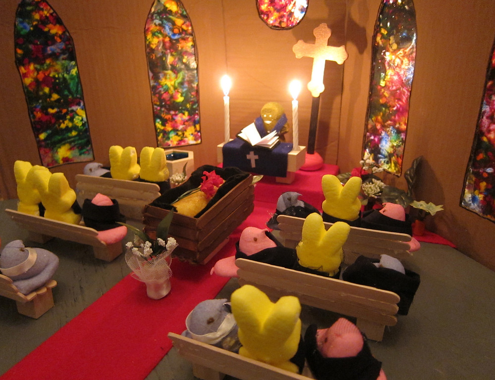 ". ""Peeps\' Funeral for the Twinkie,\"" by by Melissa Andersen, St. Paul"