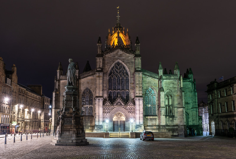 St Giles High Kirk in Edinburgh