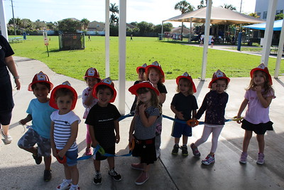 Firefighters visit BMA Early Childhood