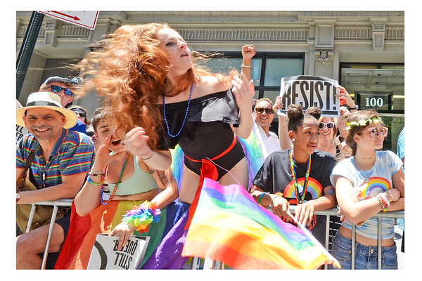 NYC LGBTQ Pride March 2017