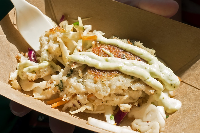 Coastal Eats: Lump Crab Cake