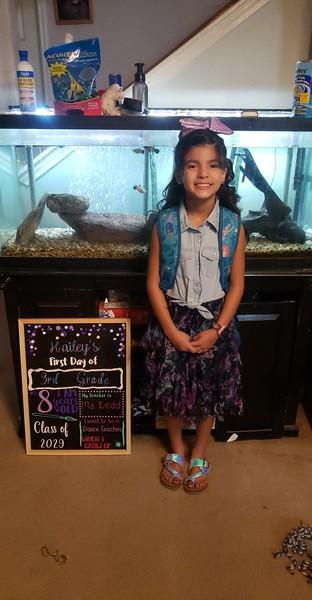 Hailey | 3rd grade | Camacho Elementary