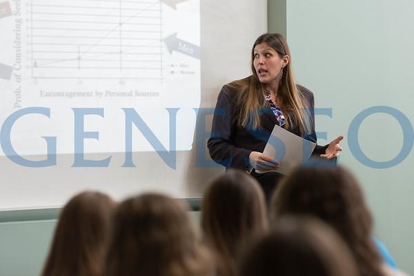 PolySci All College Hour Speaker (Photos by Annalee Bainnson)
