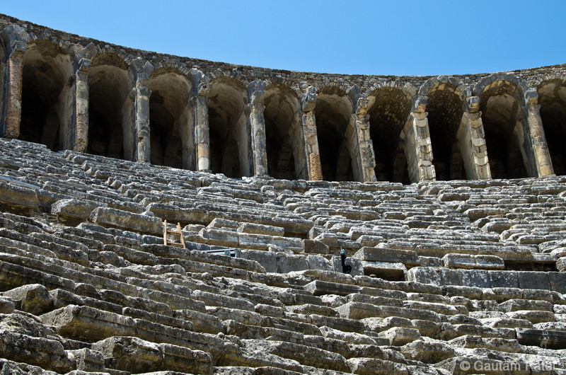 Roman Theatre, Aspendos : Turkey June 2012