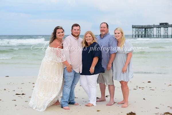 The Vise family     Panama City Beach