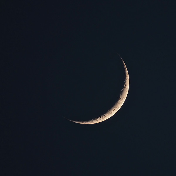 Crescent moon 9% 14th May 2021