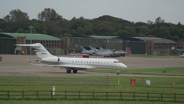 RAF Leuchars airshow 2012 arrivals