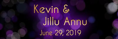 Kevin & Jillu June 29, 2019