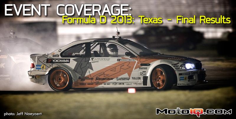 Formula Drift Mike Essa Texas Motor Speedway