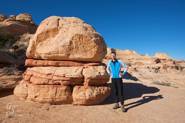 Gordon Smith at Coyote Buttes, Arizona