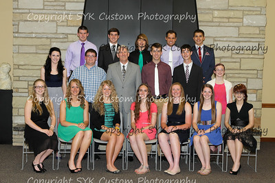 2015 West Branch Academic Recognition Banquet at Mount Union