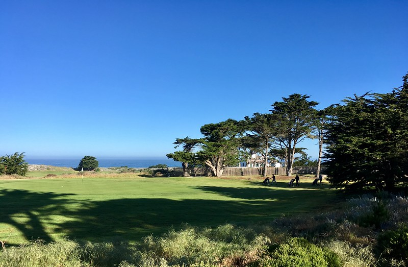 Point Pinos Lighthouse on the golf course grounds