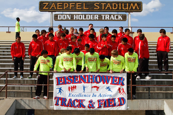 2012 Eisenhower Track & Field Team Pictures