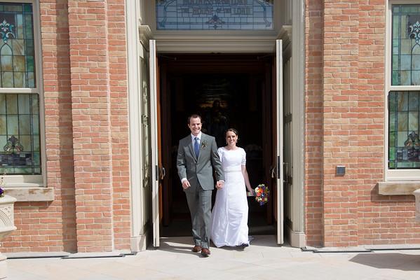 Provo City Center - Wedding Day
