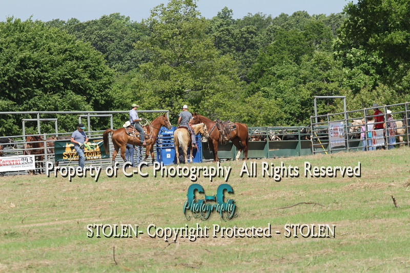 Old West Fest Pasture Roping