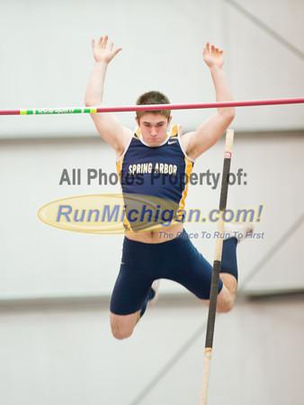 Men's Pole Vault - 2012 NAIA Indoor