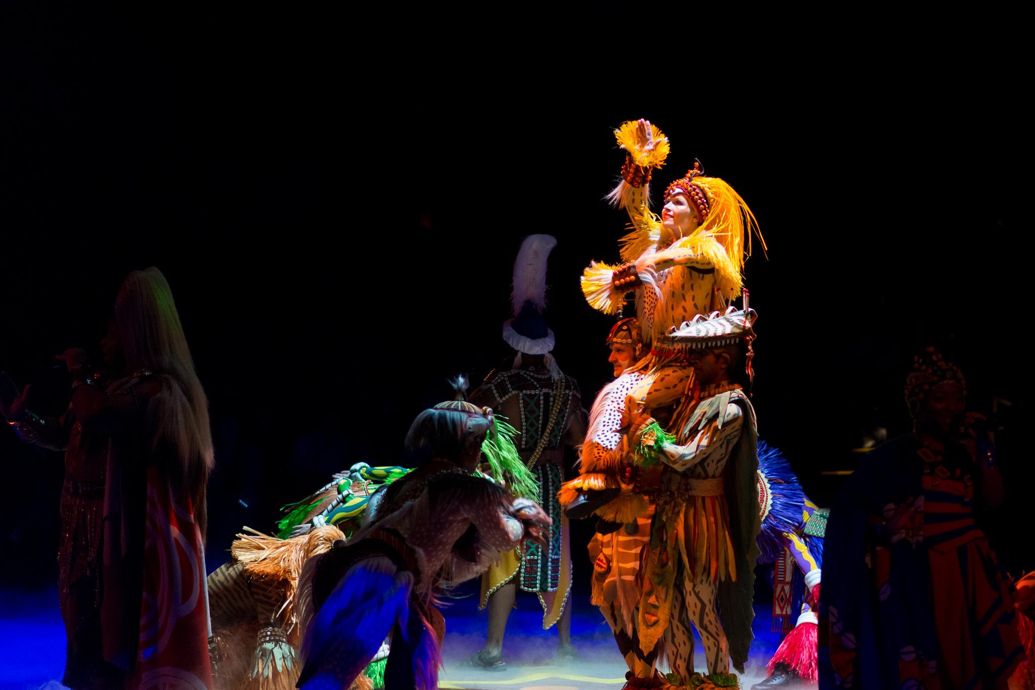 Disney's Animal Kingdom - Festival of the Lion King Dancers
