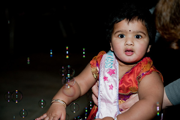 Meena's 1st Birthday Party
