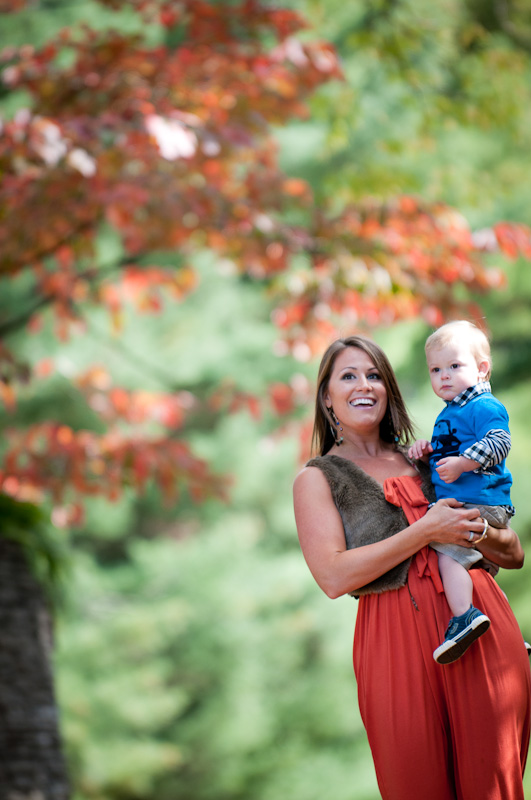 Angie and Cooper Family Portrait Novo Photography