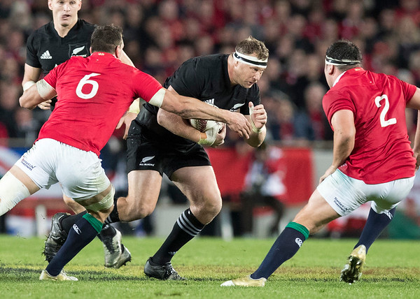 Wyatt Crockett  during game 10 of the British and Irish Lions 2017 Tour of New Zealand, the third Test match between  The All Blacks and British and Irish Lions, Eden Park, Auckland, Saturday 8th July 2017 (Photo by Kevin Booth Steve Haag Sports)  Images for social media must have consent from Steve Haag