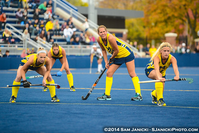 10-24-14 Michigan Field Hockey Vs Michigan State
