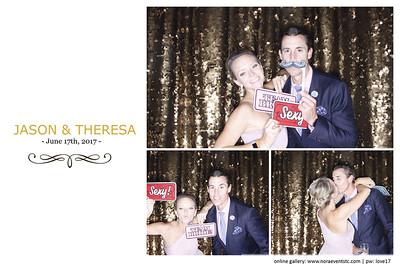 Theresa and Jason (photo strips)
