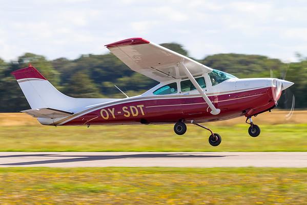 OY-SDT - Cessna TR182RG Turbo Skylane