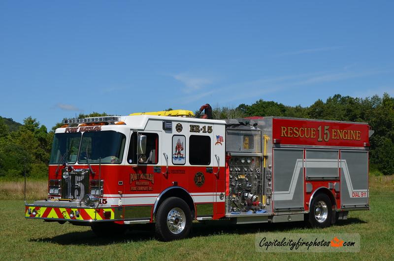 Port Matilda Fire Co. (Centre Co.) Rescue Engine 15: 2003 Spartan/Quality 2000/750/30 (X-Lower Chichester, PA)