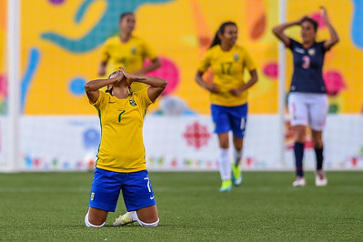 2015 Pan Am Games - Women's Soccer - Brazil vs Ecuador