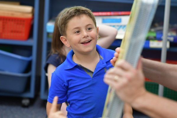 Kindergartners Learn about Book Publishing and Illustration