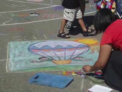 CHALK4PEACE Beach Elementary School/P.A.I.N.T.S.