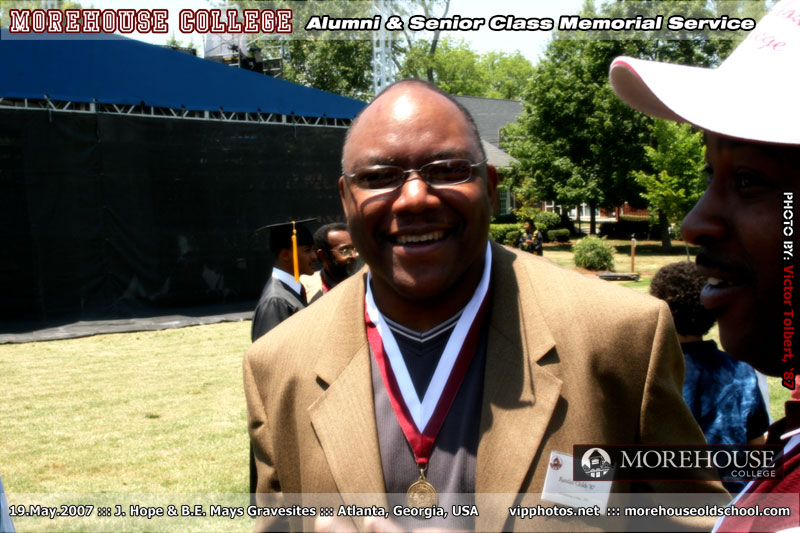 Morehouse Alumni & Senior Class Memorial Service :: Hope & Mays Gravesites :: ATL, GA [May.19.2007]