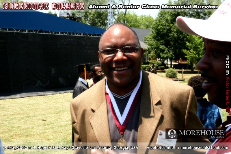 Morehouse Alumni & Senior Class Memorial Service :: Hope & Mays Gravesites :: ATL, GA [May.19.2007]