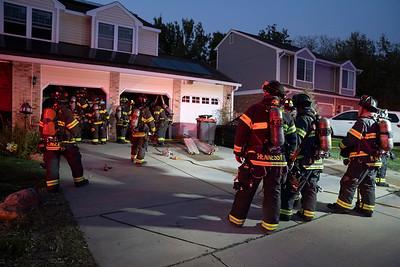 E. Phillips Circle Garage Fire