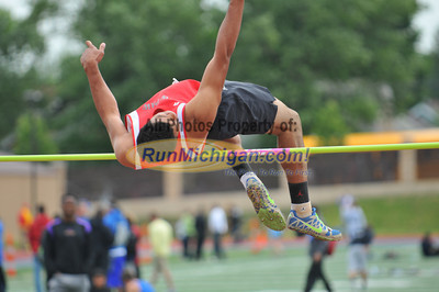 Boy's High Jump, Gallery 2 - 2012 MHSAA LP D2 T&F Finals