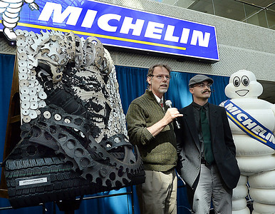 Michelin Tire Art, More Pictures Coming