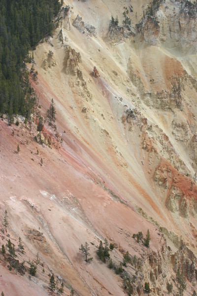 """""""The Grand Canyon of Yellowstone"""" - river erosion"""